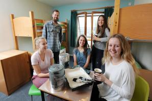 Youth hostel gets a gold-standard makeover from volunteers